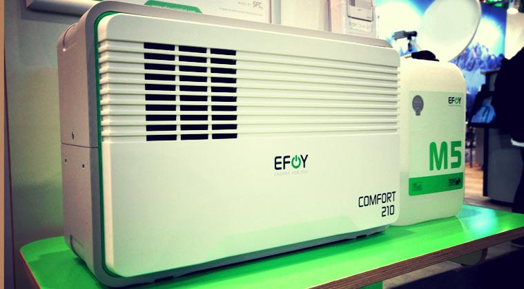 EFOY: Umweltfreundliche Energieerzeugung