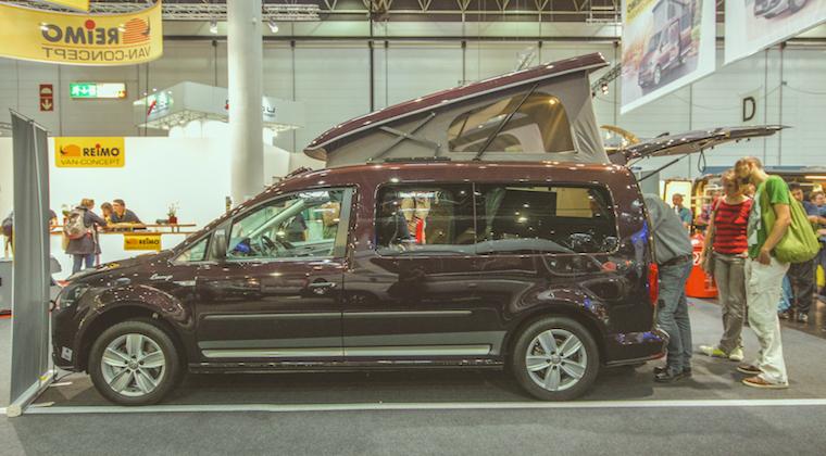 Reimo CaddyCamp: Wohnmobil Im Miniaturformat