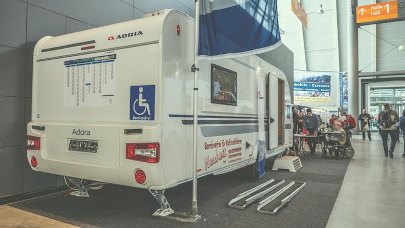 Barrierefreier Wohnwagen