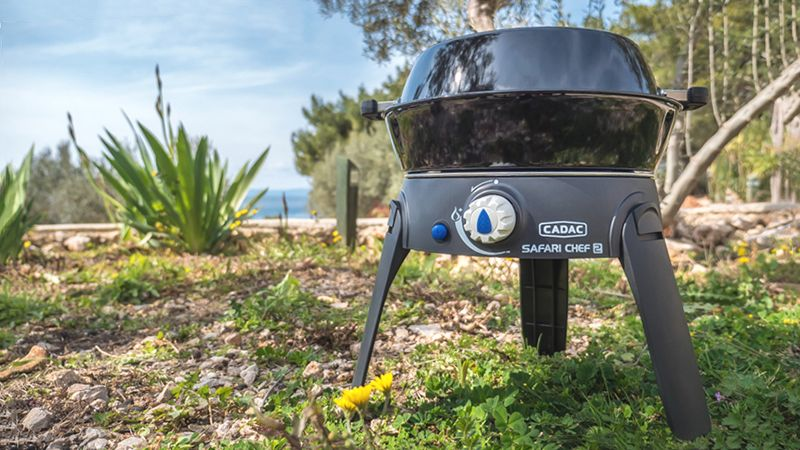 "Produkttest: Camping-Grill ""Safari Chef 2"""