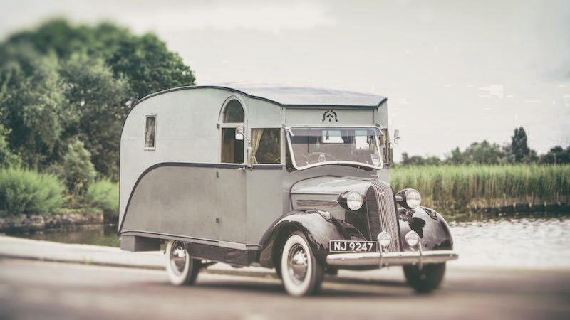 Erstes Englisches Wohnmobil Aus Dem Jahr 1936 Versteigert!