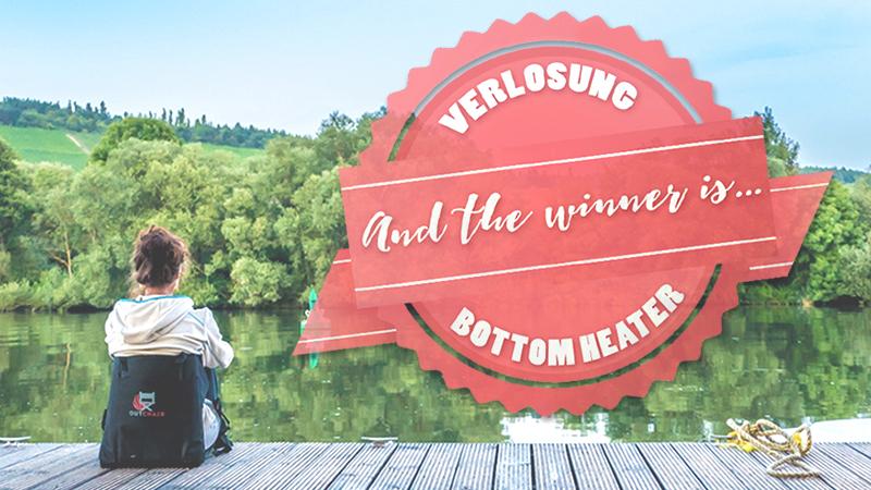 Verlosung Bottom Heater: Der glückliche Gewinner!