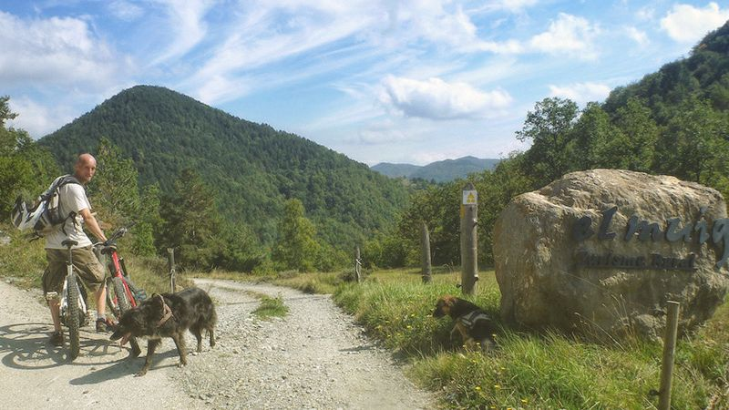Mountainbiken Spanien Katalonien - Steve