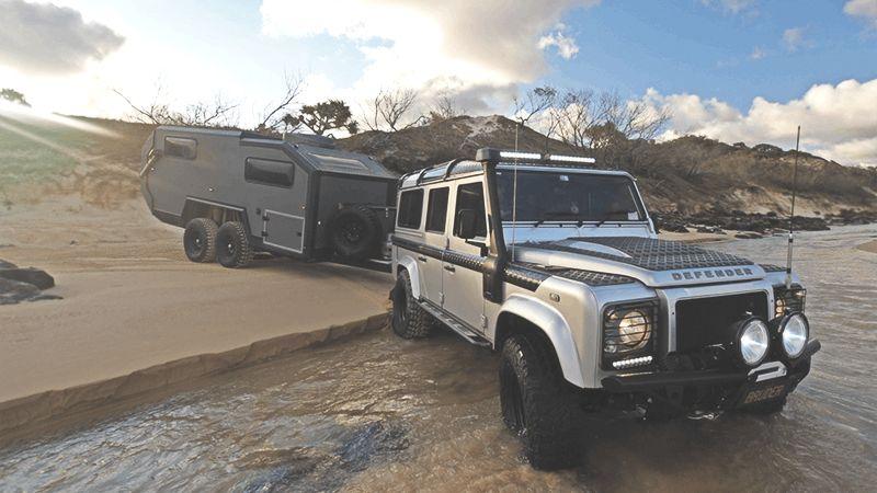 Bruder Offroad Caravan