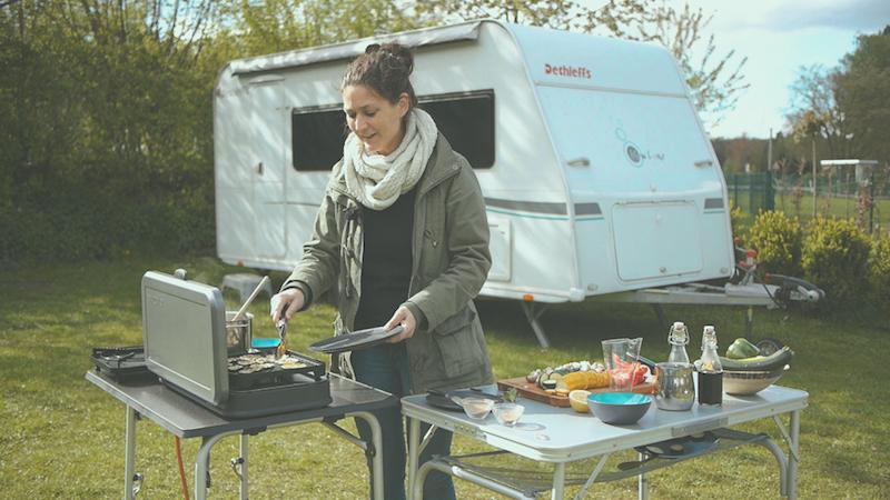 Rezepte für den Camping-Grill + Gewinnspiel – Teil 2: Antipasti & vegane Kokos-Zimt-Polenta