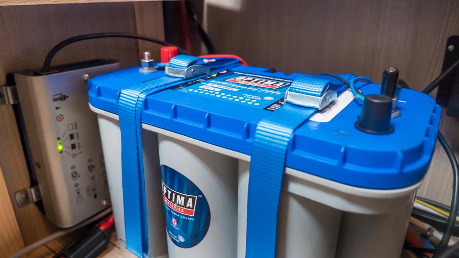 Strom im Wohnmobil Batterie