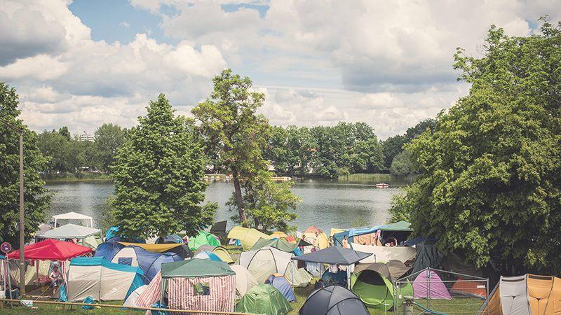 Camping-Regeln für Festivals und andere Großevents
