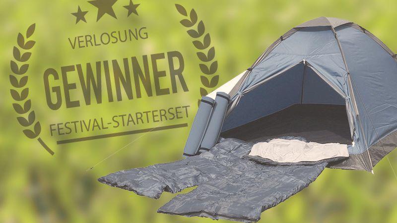 Verlosung Festival-Kit – Der Gewinner