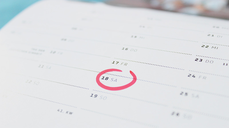 Kalender Camping Messen und Caravan Messen