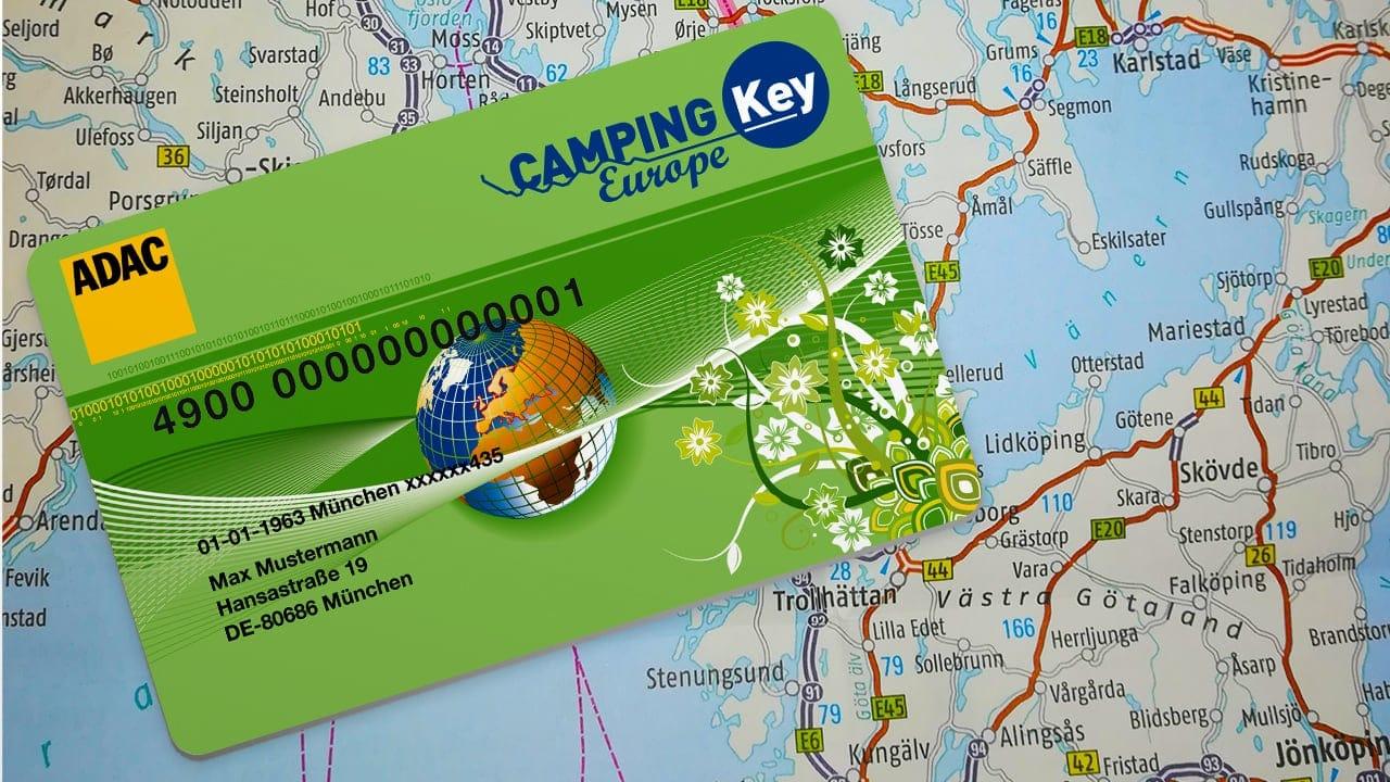 DIE ADAC Camping Key Europe