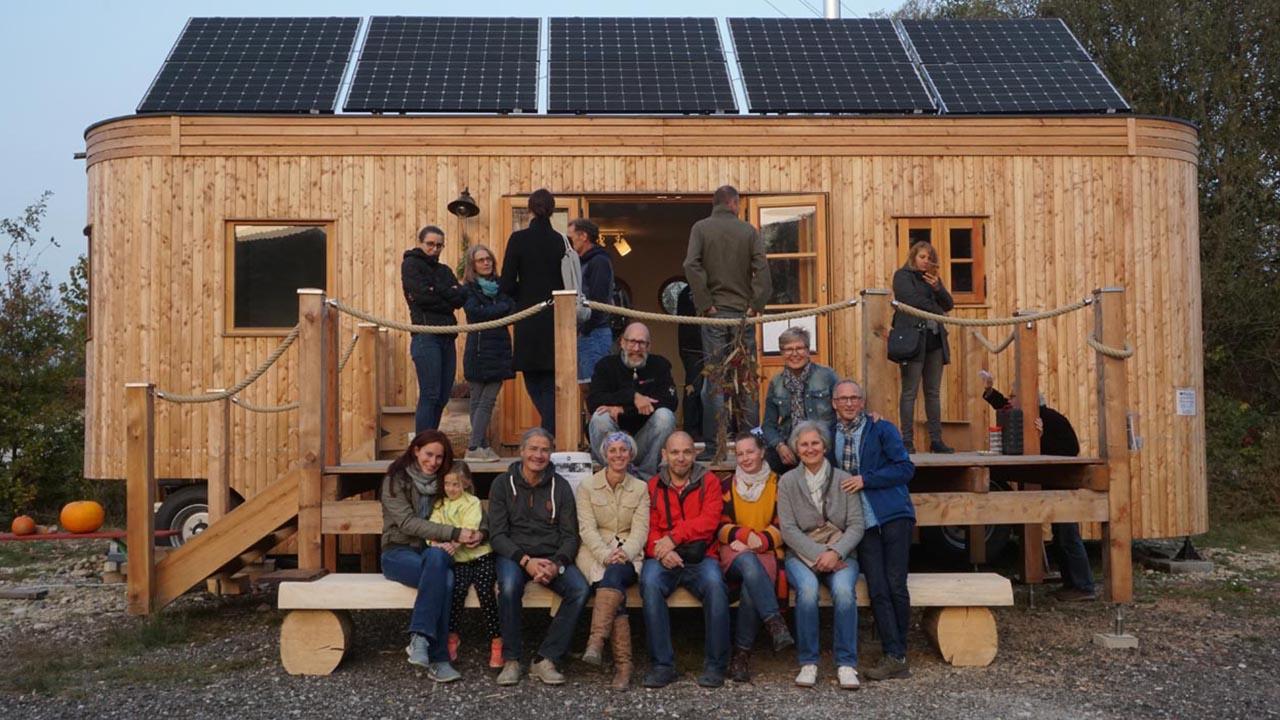Leben im Tiny Dorf: Eine Community setzt sich ein
