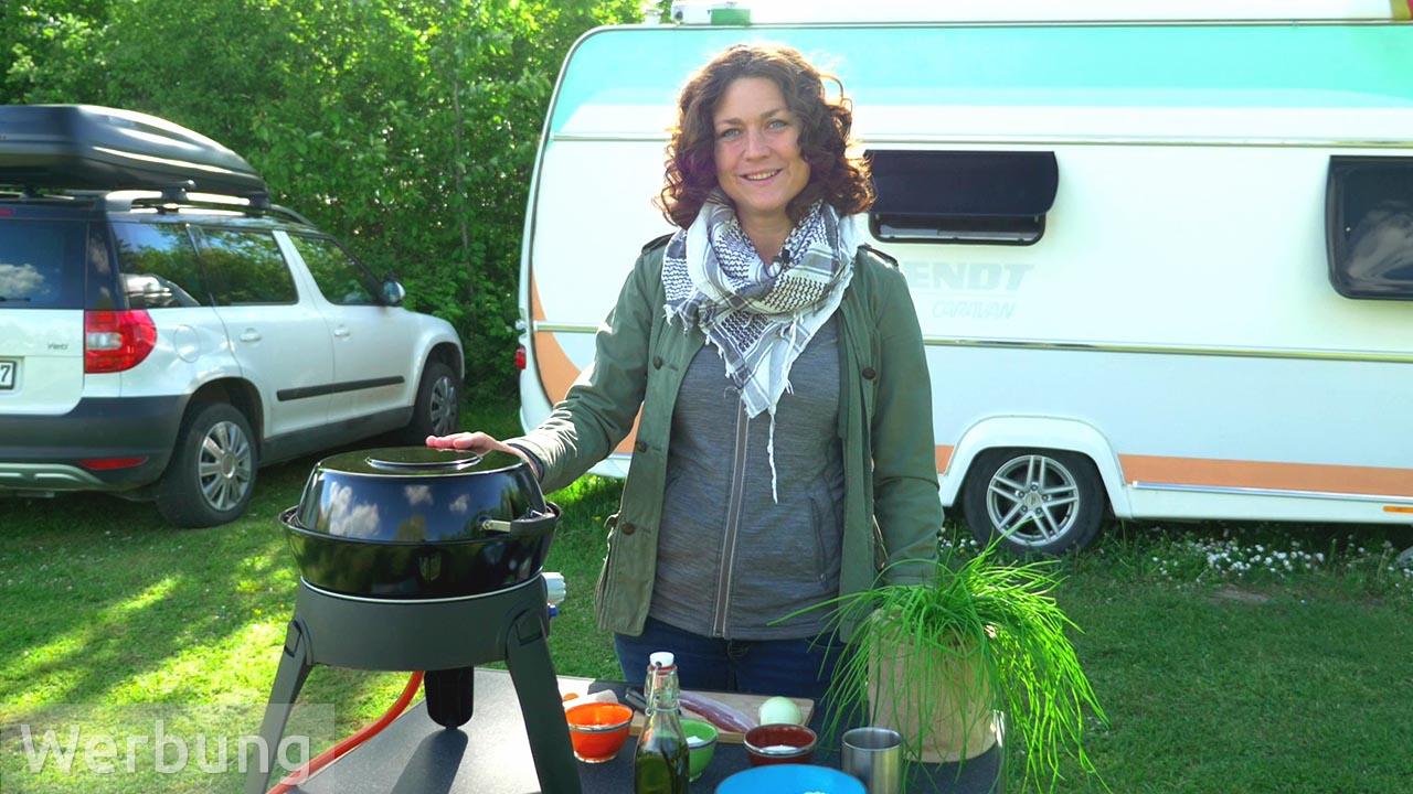 Camping-Rezepte: Pfannen-Flammkuchen vom Safari Chef 2